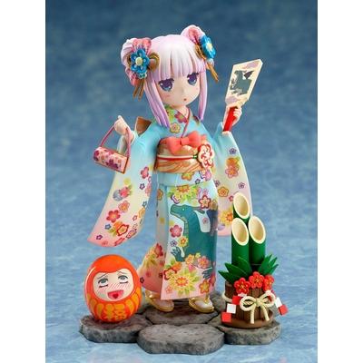 Statuette Kobayashi's Dragon Maid Kanna Finest Kimono 17cm