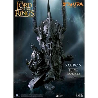 Statuette Le Seigneur des Anneaux Defo-Real Series Sauron Premium Edition 15cm