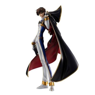 Statuette Code Geass Resurrection Lelouch G.E.M. Kururugi Suzaku Pilot Suit Version 24cm