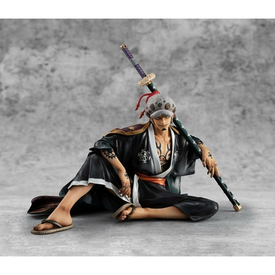Statuette One Piece Portrait Of Pirates Warriors Alliance Trafalgar Law 12cm