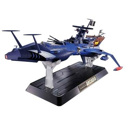 Réplique Albator le corsaire de l'espace Diecast Soul of Chogokin GX-93 Battleship Arcadia 43cm