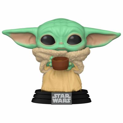 Figurine The Mandalorian Funko POP! Star Wars The Child with Cup 9cm