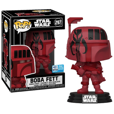 Figurine Star Wars Funko POP! Boba Fett (BURG) Convention Exclusive 2020