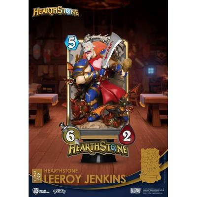 Diorama Hearthstone Heroes of Warcraft D-Stage Leeroy Jenkins 16cm