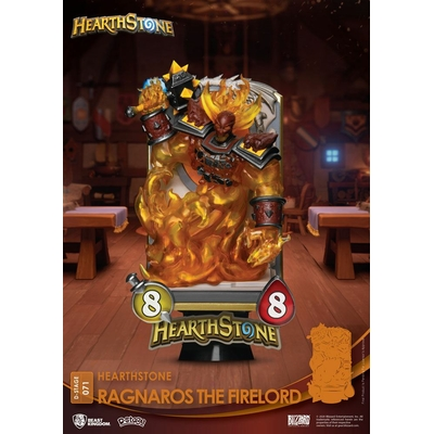 Diorama Hearthstone Heroes of Warcraft D-Stage Ragnaros the Firelord 16cm