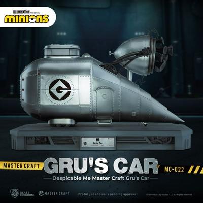 Statuette Moi, moche et méchant Master Craft Gru's Car 26cm