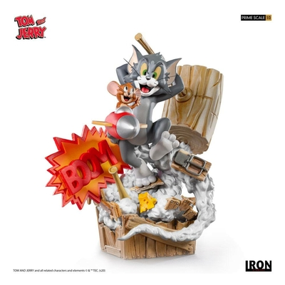 Statuette Tom & Jerry Prime Scale Tom & Jerry 21cm