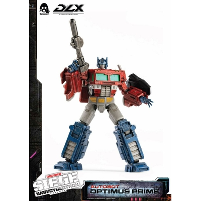 Figurine Transformers War For Cybertron Trilogy DLX Optimus Prime 25cm
