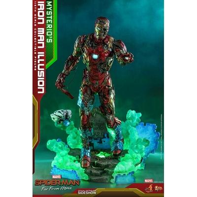 Figurine Avengers Endgame MMS Mysterio's Iron Man Illusion 32cm