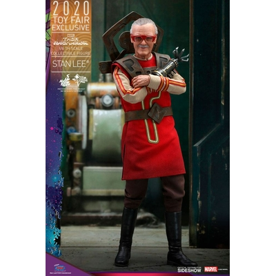 Figurine Thor Ragnarok Movie Masterpiece Stan Lee Hot Toys Exclusive 30cm