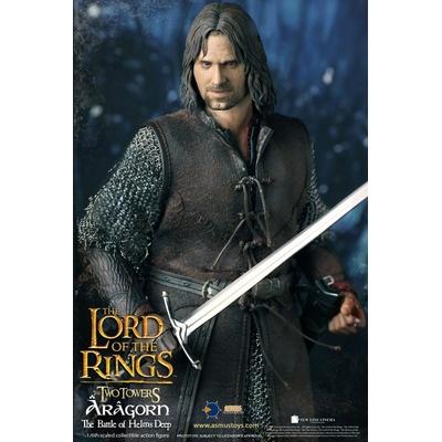 Figurine Le Seigneur des Anneaux Aragorn at Helm's Deep 30cm