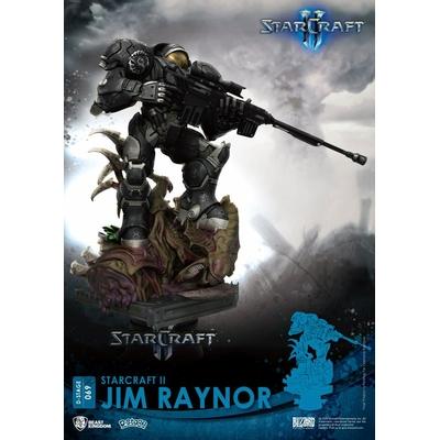 Diorama StarCraft II D-Stage Jim Raynor 18cm
