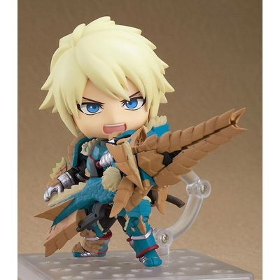 Figurine Nendoroid Monster Hunter World Iceborne Hunter Male Zinogre Alpha Armor Ver. DX 10cm