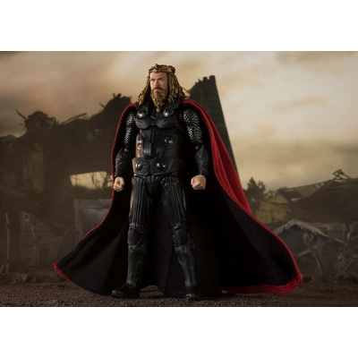 Figurine Avengers Endgame S.H. Figuarts Thor Final Battle Edition 17cm