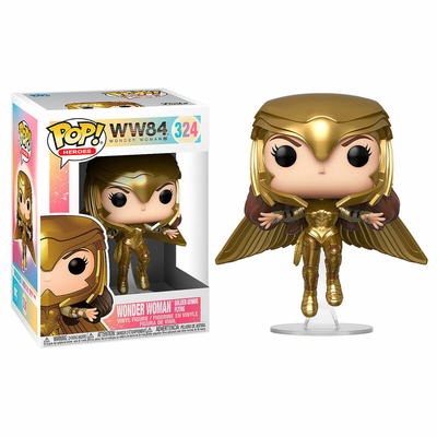 Figurine Wonder Woman 1984 Funko POP! Wonder Woman Gold Armour Flying Pose 9cm