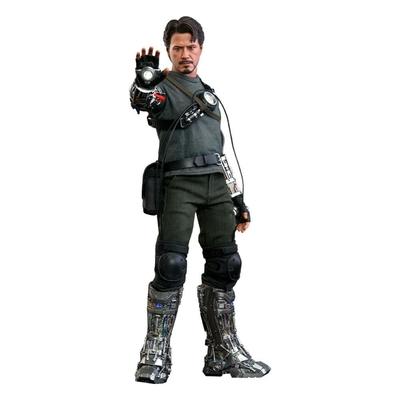 Figurine Iron Man Movie Masterpiece Tony Stark Mech Test Deluxe Version 30cm