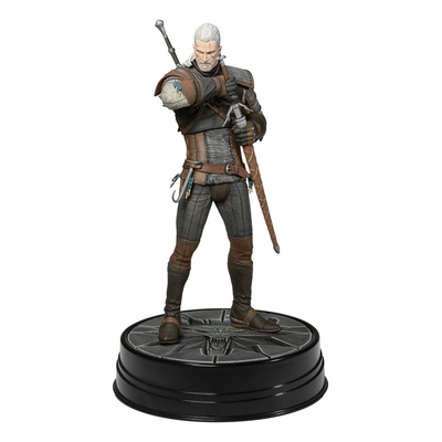Statuette Witcher 3 Wild Hunt Heart of Stone Geralt Deluxe 24cm