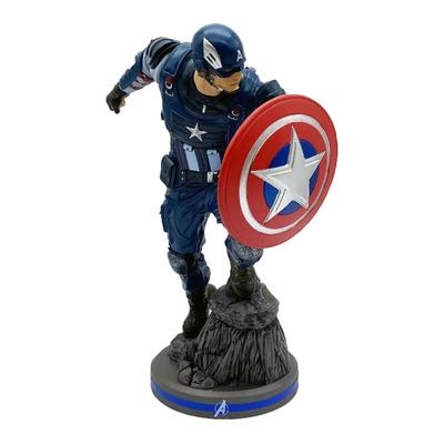 Statuette Avengers 2020 Video Game Captain America 22cm