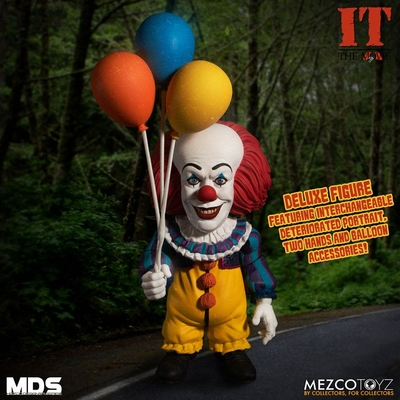 Figurine Il est revenu 1990 MDS Deluxe Pennywise 15cm
