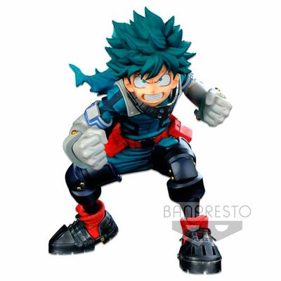 Statuette My Hero Academia Colosseum Modeling Academy Super Master Stars Piece Izuku Midoriya 18cm