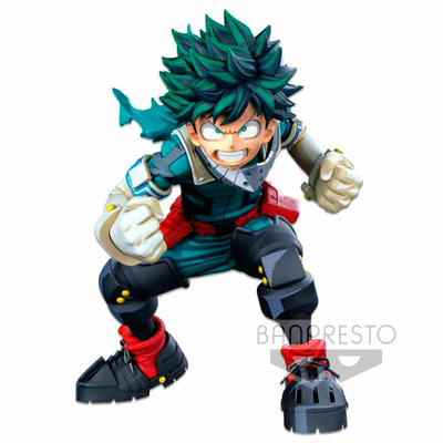 Statuette My Hero Academia Colosseum Modeling Academy Super Master Stars Piece Izuku Midoriya II 18cm