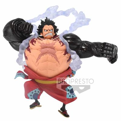 Statuette One Piece King Of Artist Monkey D. Luffy Gear 4 Wanokuni 13cm