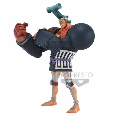 Statuette One Piece DXF Grandline Men Franky Wano Kuni 17cm