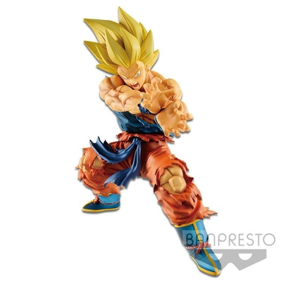 Statuette Dragon Ball Legends Collab Kamehameha Son Goku 17cm