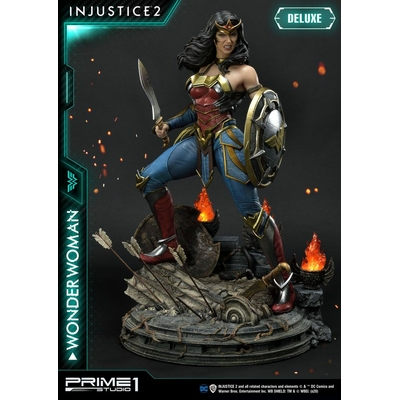 Statue Injustice 2 Wonder Woman Deluxe Version 52cm