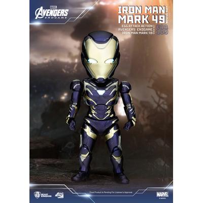 Figurine Avengers Endgame Egg Attack Iron Man Mark 49 Rescue Suit 21cm