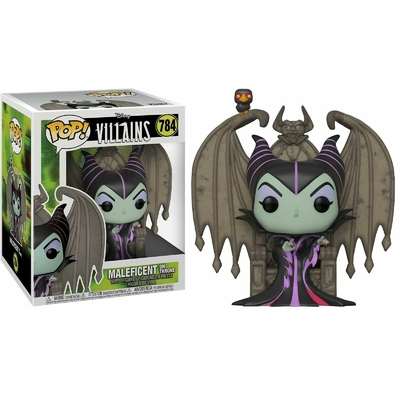 Figurine Disney Funko POP! Deluxe Maleficent on Throne 9cm