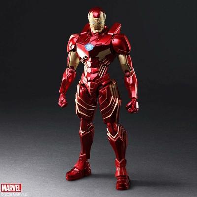 Figurine Marvel Universe Bring Arts Iron Man by Tetsuya Nomura 18cm