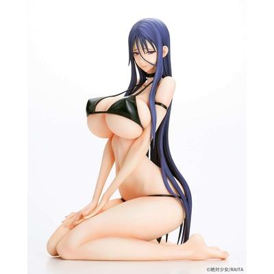 Statuette Magical Girl Mahou Shoujo Misanee Black Bikini Ver. 17cm