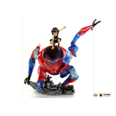 Statuette Spider-Man Far From Hom BDS Art Scale Deluxe Peni Parker & SP 25cm