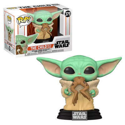 Figurine Star Wars The Mandalorian Funko POP! The Child with Frog 9cm