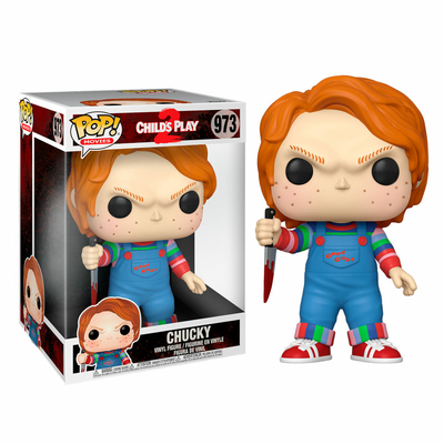 Figurine Chucky Jeu d´enfant Super Sized POP! Chucky 25cm