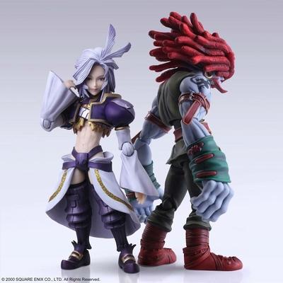 Figurines Final Fantasy IX Bring Arts Kuja & Amarant Coral 16 - 18cm