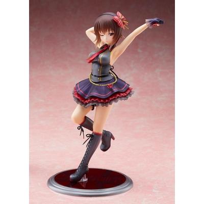 Statuette Girls und Panzer Senshado Daisakusen DreamTech Maho Nishizumi Idol Style 24cm
