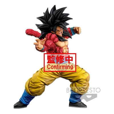 Statuette Dragon Ball Super Super Master Stars Piece Super Saiyan 4 Son Goku (Two Dimentions) 25cm