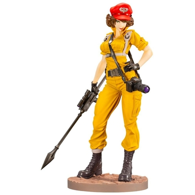 Statuette G.I. Joe Bishoujo Lady Jaye Canary Ann Color Version 23cm