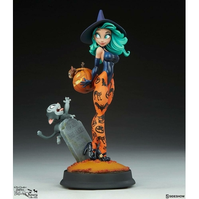 Statuette Happy HallowQueens Collection Pumpkin Witch by Chris Sanders 34cm