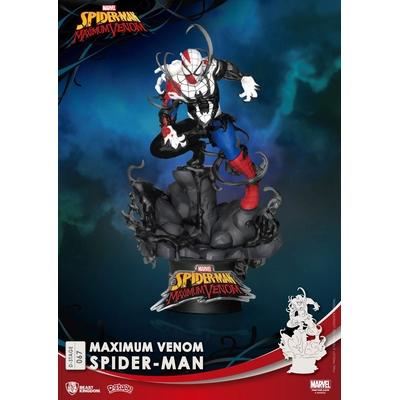 Diorama Marvel Comics D-Stage Maximum Venom Spider-Man 16cm