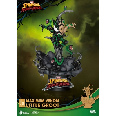 Diorama Marvel Comics D-Stage Maximum Venom Little Groot 16cm