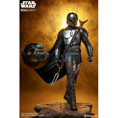 Statuette Star Wars The Mandalorian Premium Format The Mandalorian 51cm