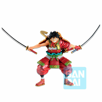 Statuette One Piece Ichibansho Armor Warrior Luffytaro 20cm