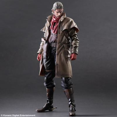 Figurine Metal Gear Solid V The Phantom Pain Play Arts Kai - Ocelot 28cm