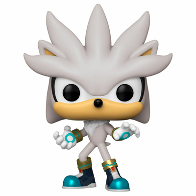 Figurine Sonic the Hedgehog Funko POP! Sonic 30th Silver the Hedgehog 9cm