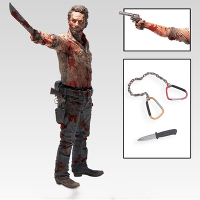 Figurine The Walking Dead Deluxe Rick Grimes Vigilante Edition 25cm