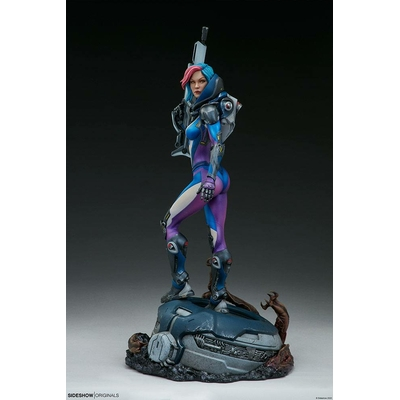 Statuette Sideshow Originals Bounty Hunter Galactic Gun For Hire 48cm