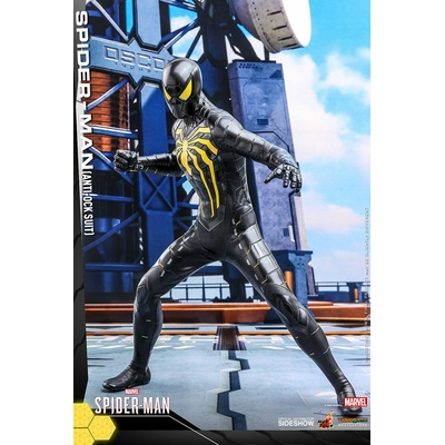 Figurine Marvel's Spider-Man Video Game Masterpiece Spider-Man Anti-Ock Suit 30cm